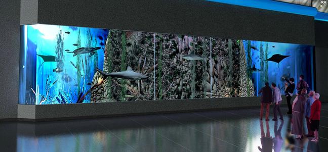 Найбільший акваріум у Східній Європі у ТРЦ